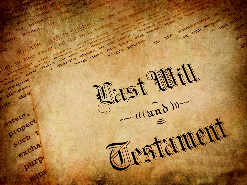 The Dangers of Failing to Make a Will